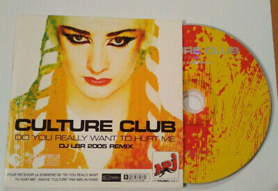 Culture Club - do you really want to hurt me - cd single