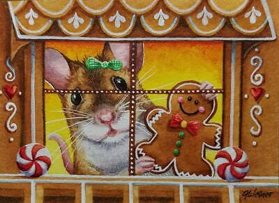"""1/"""" ACEO Limited Edition Giclée Print from  original miniature /""""Comic Art"""