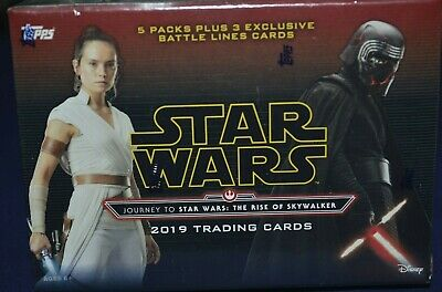 2019 Topps Star Wars Journey to the Rise of Skywalker Blaster BoxNo Reserve