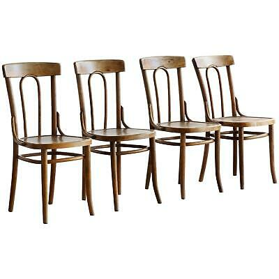 SET MUNDUS THONET 1914 Bent-Wood Bistro Polish Cafe Chairs to restore OFFERS