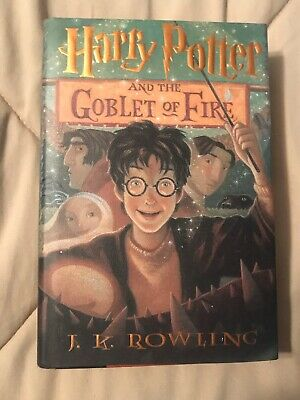 Harry Potter And The Goblet Of Fire Hardcover First Edition Book