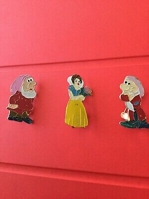 Snow White & Seven Dwarfs Disney Pin Lapel Pin