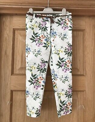 NEXT *8y GIRLS FLORAL SPRING / SUMMER TROUSERS / JEANS AGE 8 YEARS