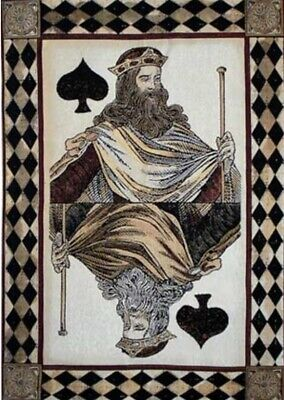 King of Spades Tapestry