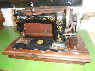Vintage Wheeler & Wilson No9 Hand Cranked or Treadle Sewing Machine,D-9