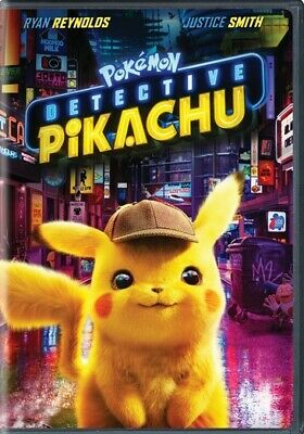 Warner Home Video D740071D Pokemon-Detective Pikachu (2019/Dvd/Special Editio...