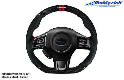 Buddy Club Racing Spec Steering Wheel 2015+ Subaru WRX/STI (Carbon Fiber)