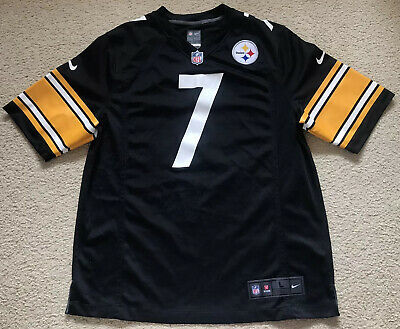 NEW #7 Ben Roethlisberger Pittsburgh Steelers NFL Jersey Nike Mens Size Large L