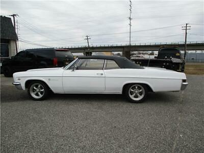 1966 Chevrolet Impala CONV 1966 CHEVY IMPALA Total Restore Everything New Or Rebuilt drive anywhere