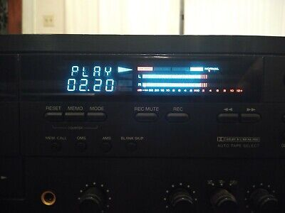 CARVER TDR -1550 Auto Reverse Cassette Deck Tested - Working.