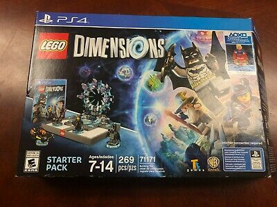 LEGO Dimensions Starter Pack PS4 Playstation 4 without Supergirl Minifig
