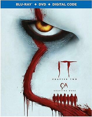 IT Chapter Two BLU-RAY + DVD + DIGITAL + SLIPCOVER BRAND NEW SEALED - FAST SHIP!