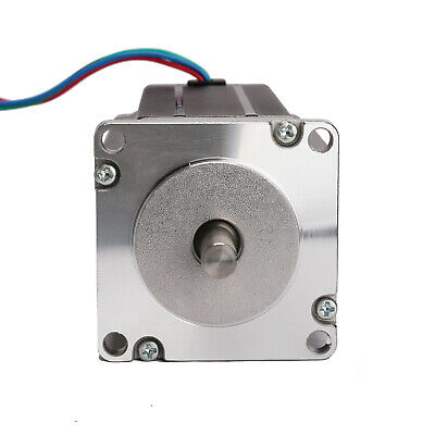 Nema 23 57BYGH single shaft stepper motor 425 oz.in 3.0A 112mm For CNC