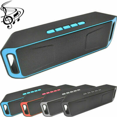 Wireless Bluetooth Speaker High Bass Portable Outdoor Stereo Loudspeaker for PC