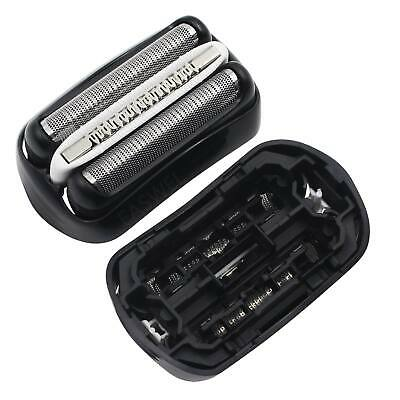 Shaver Replacement Foil and Cutter Head For Braun 32S 32B Series 3 Silver Razor