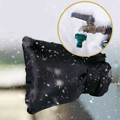 Water Tap Pipe Protect Freezing Insulated Cover Faucet Winter Garden Outside UK