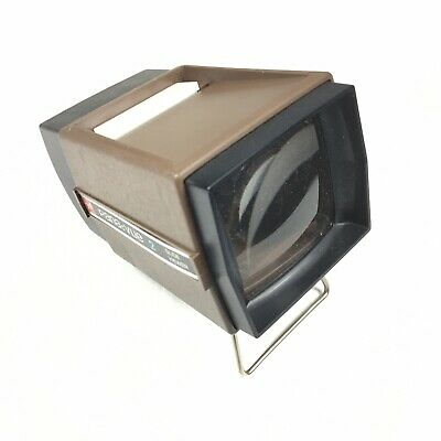 Pana Vue 2 Vintage Slide Viewer Lighted 2x2 Working With Box