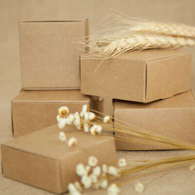 Packaging Wedding Kraft Paper Box Party Supplies Gift Boxes Handmade Soap Box