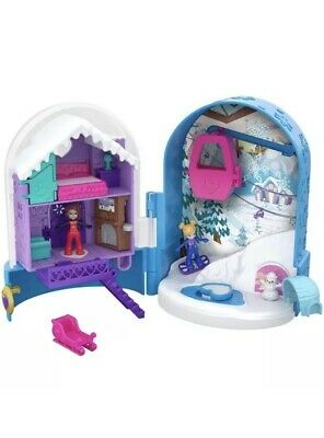 Polly Pocket FRY37 Snowball Surprise Compact Box