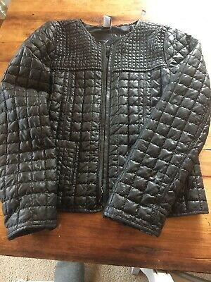 Zara Girls Quilted Jacket Age 9-10 Used