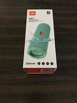 JBL Flip 4 Portable Bluetooth Wireless Speaker Waterproof Stereo - Teal