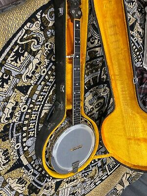 5 String Banjo Very Heavy -with The Inscription - l Erickson roswell 1976