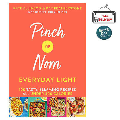 Pinch of Nom Everyday Light 100 Tasty Slimming Recipes Hardcover Food Family NEW