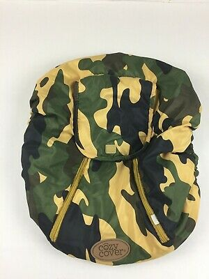 O11 Cozy Cover Infant Carrier Cover - Secure Baby Car Seat Cover Camo Camouflage