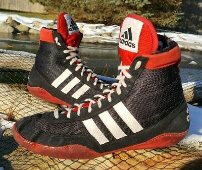 RARE Adidas Combat Speed II CB2 Wrestling Shoes Size 8.5 Vintage