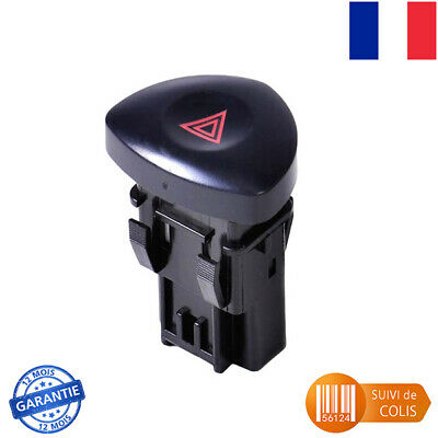 Bouton Interrupteur Warning Pour Renault Clio 2 Phase 2  Oem: 8200442723