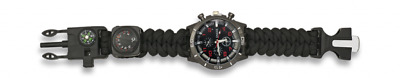Reloj Paracord Analogico Militar, Ejercito, Outdoor, Camping
