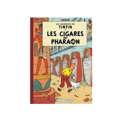 Tintin album: Les cigares du pharaon Edition fac-similé colours 1955