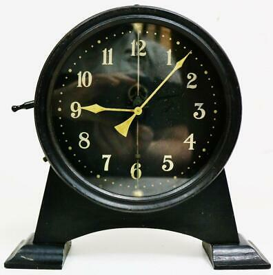 Rare Antique English Circa 1920's Watson & Webb Mystery Gravity Mantel Clock
