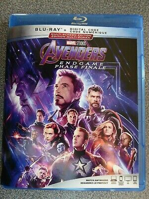 Avengers end game / Avengers phase finale     (Blu-Ray + digital  2019)