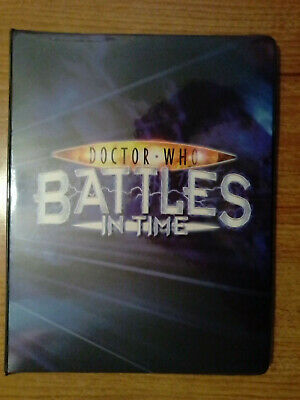 Doctor Who - Battles In Time Annihilator Complete 100 Card Set In Binder