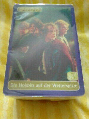 Lord Of The Rings & The Two Towers 40 Lenticular Card Set KELLOGG'S RARE GERMANY