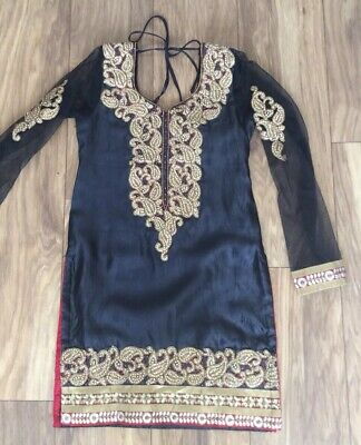 Brand New - Salwar Kameez / Bollywood Indian / Punjabi Suit Outfit - Size 8