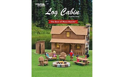 Leisure Arts 6738 The Best Of Mary Maxim Log Cabin Bk