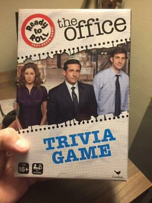 The Office TV Show Trivia Box Game Dunder Mifflin Cardinal New Limited Quantity