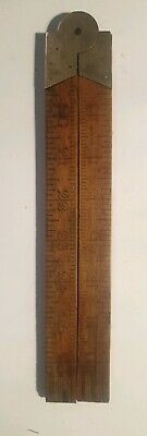 Vintage boxwood syren no 80 ruler  - made in holland  - free post - lot #80