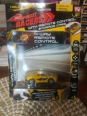 RC Pocket Racers Remote Controlled Micro Race Car - FURY