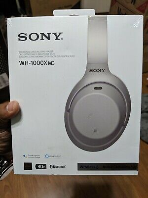Sony WH-1000XM3 Silver Wireless Noise Cancelling Headphones BRAND NEW