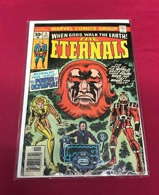 Marvel Comics Group - THE ETERNALS - When Gods Walk the Earth!