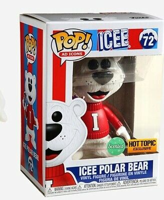 """Funko POP! """"Ad Icons"""" ICEE Polar Bear SCENTED (Hot Topic exclusive) SHIPS FAST"""