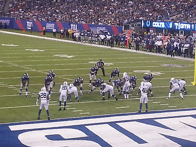 New York Giants  vs Miami Dolphins 1:00pm 2 Seats on the aisle + Parking 12/15