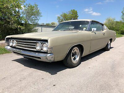"""1969 Ford Fairlane  1969 Ford Fairlane GT Fastback Coupe """"NO RESERVE"""""""