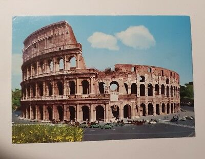 Postcard - the Colosseum rome  Scene - Lot 314
