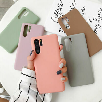 Frosted Soft Silicone TPU Case Cover For Huawei Mate 30 Pro P30 P20 Lite P Smart