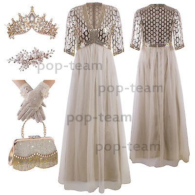 Bridesmaid Dresses Long Wedding Evening Party Cocktail Dress Ball Gowns Gold