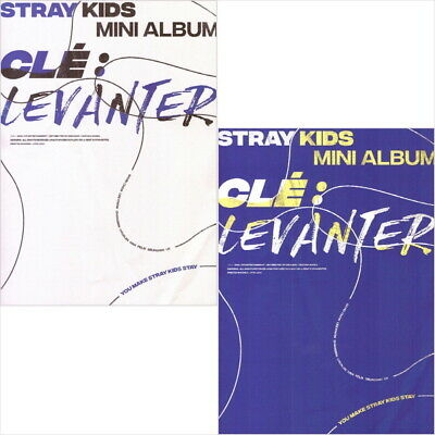Stray kids - Cle : Levanter (Normal.) CD+Photocard+Poster+Pre-Order Benefit NEW